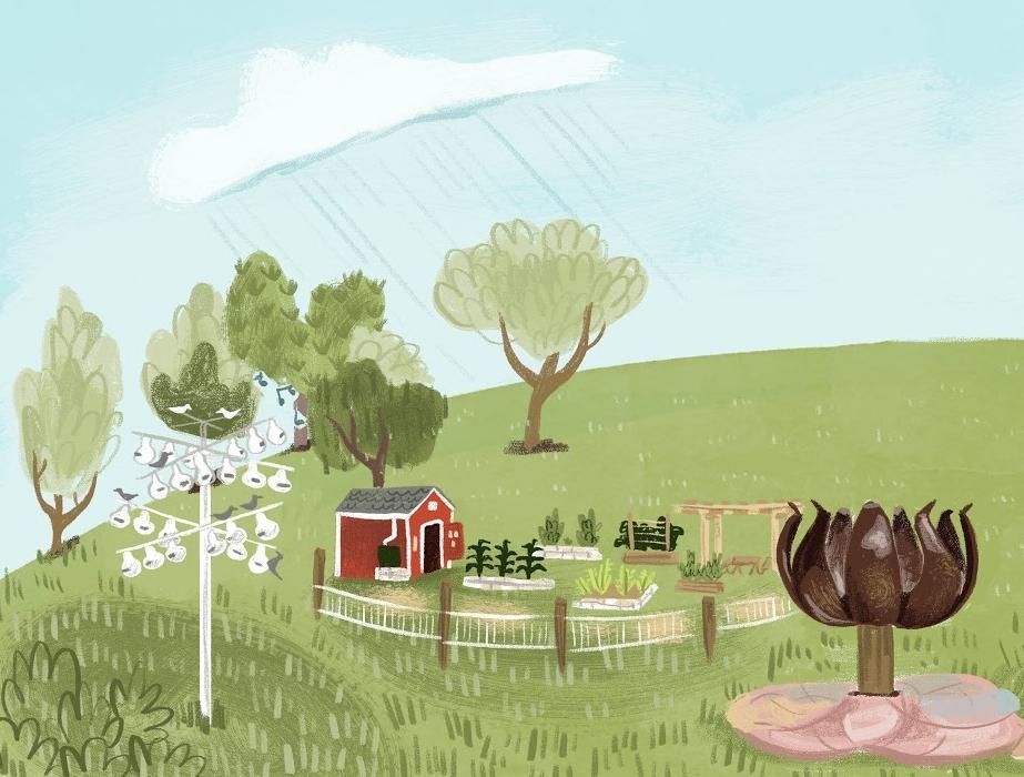 Patterson Park CG Illustration